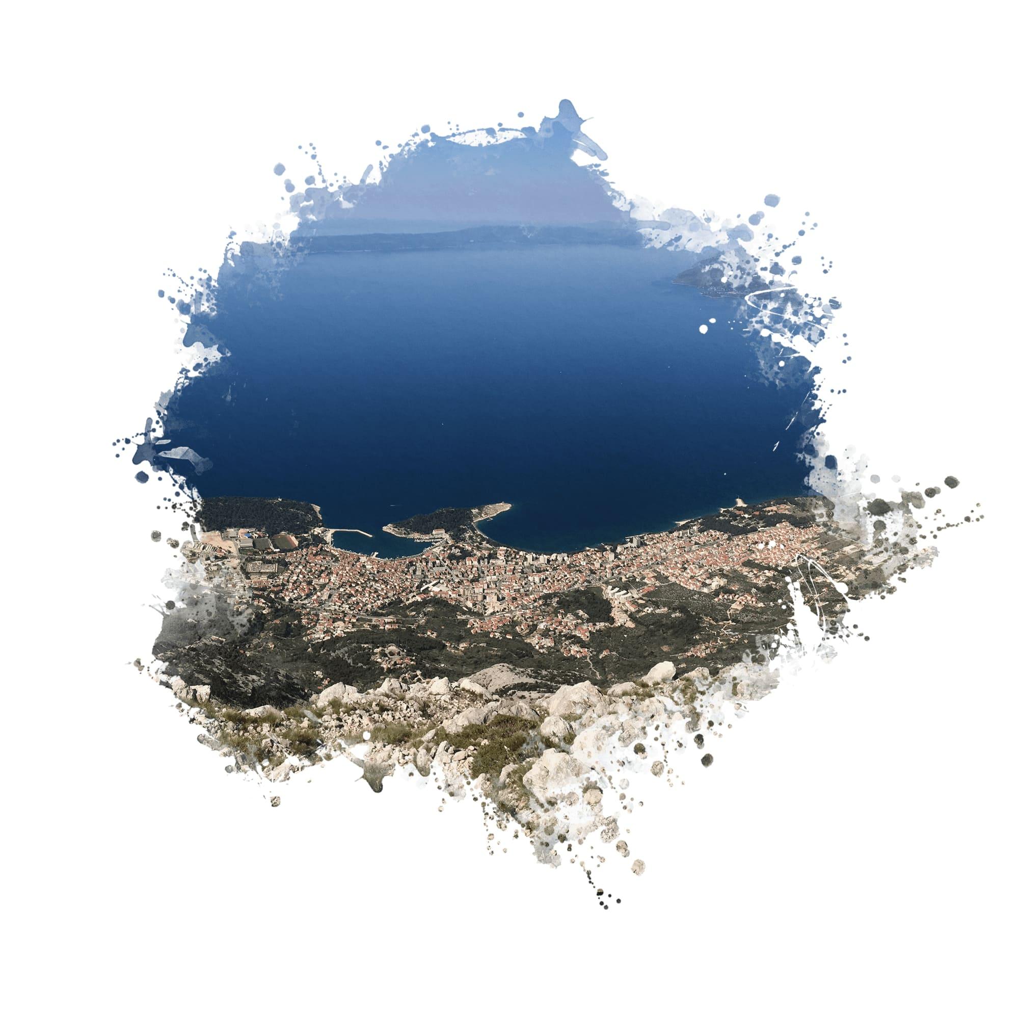 CK KOM Makarska chorvatsko dovolenka Last minute